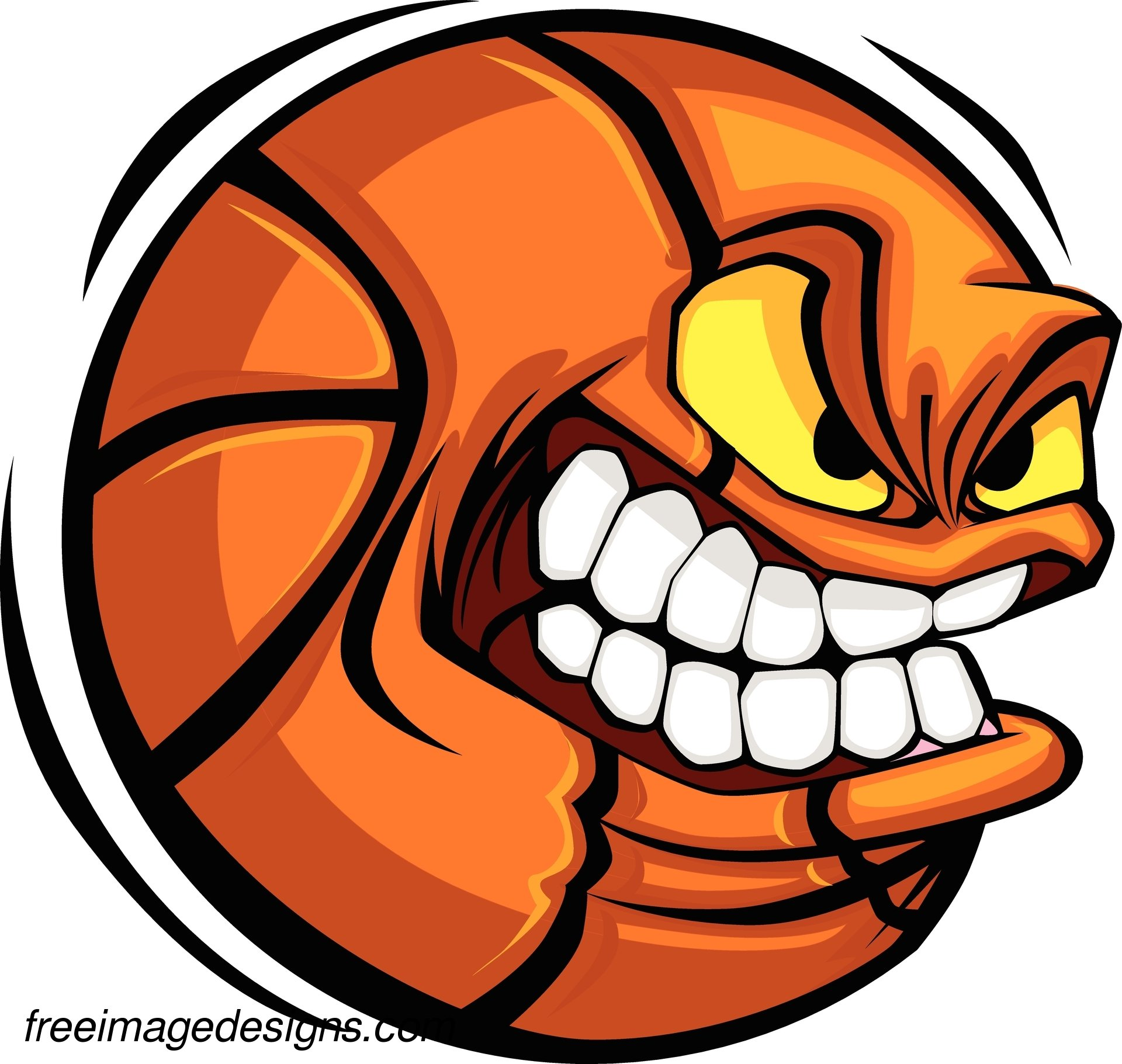 Angry basketball free image tattoo design download free for Designs com