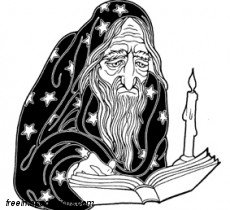 Wizard Reading Book Free Image Tattoo Design Download Free Image