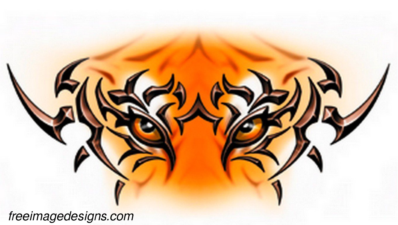 tribal tiger free image tattoo design download free image tattoo designs freeimagedesigns com. Black Bedroom Furniture Sets. Home Design Ideas