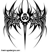 Tribal Wing Design Free Image Tattoo Design Download Free