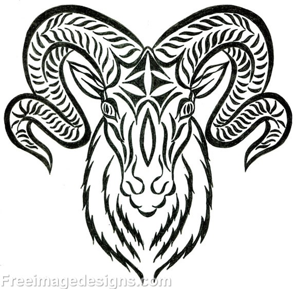 The Best Rams Head Tattoo