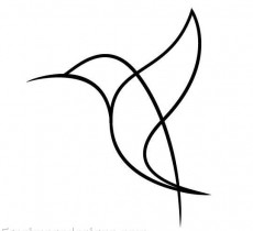 Bird Simple Draw Image Design Download Free Image Tattoo Designs